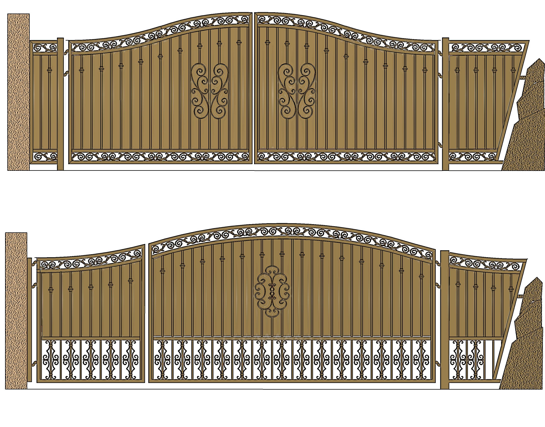 landscape gate