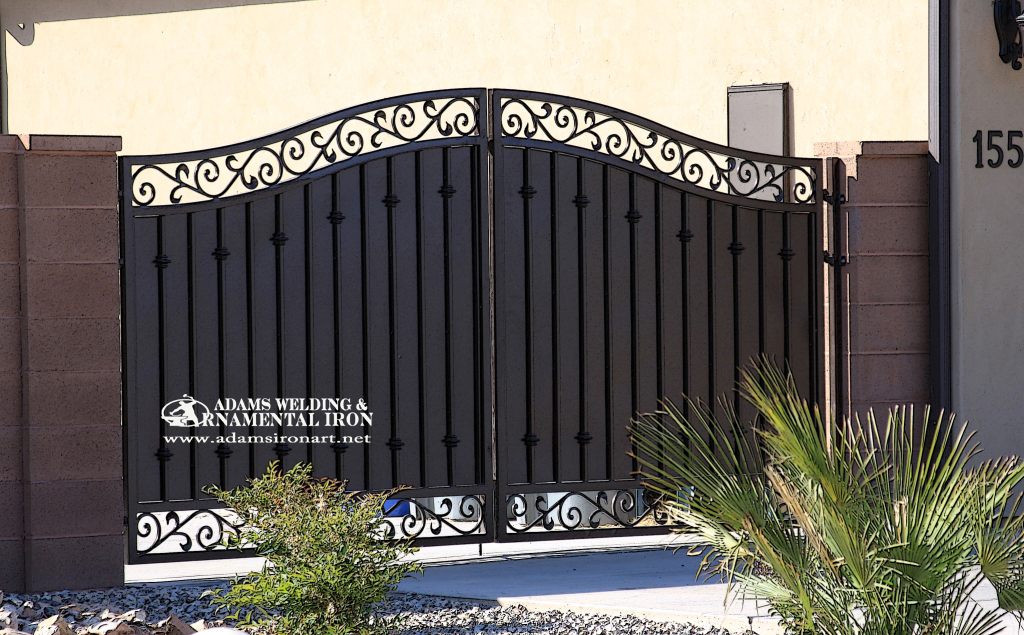 Driveway gates adams welding ornamental iron