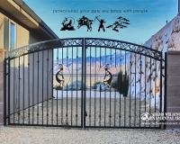 kokopelli iron gate