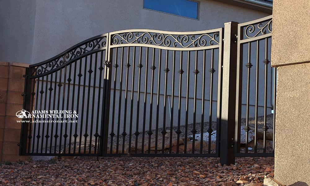 Driveway Gates Adams Welding Amp Ornamental Iron