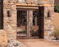 rustic gate