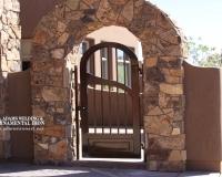 iron arch gate