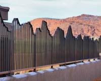 bronze mountain fence