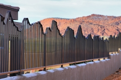 bronze mountain fence